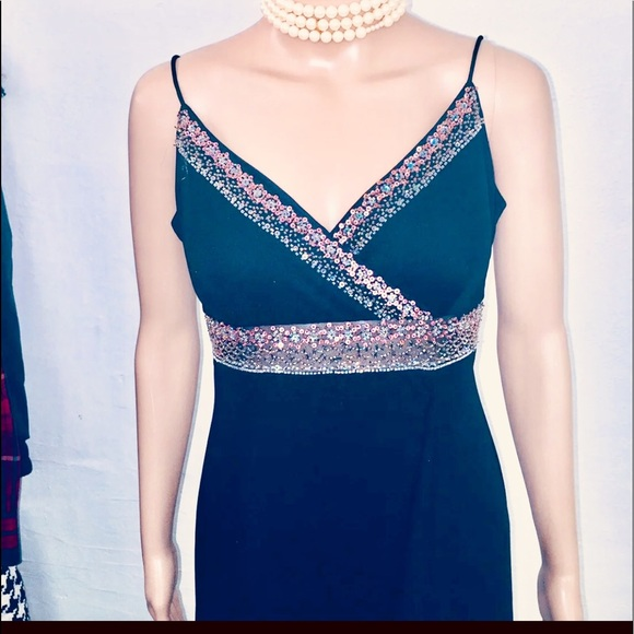 dress barn Dresses & Skirts - black party gown size M  by Dress Barn